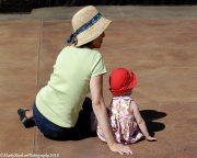 Woman & Child - Rockefeller State Park